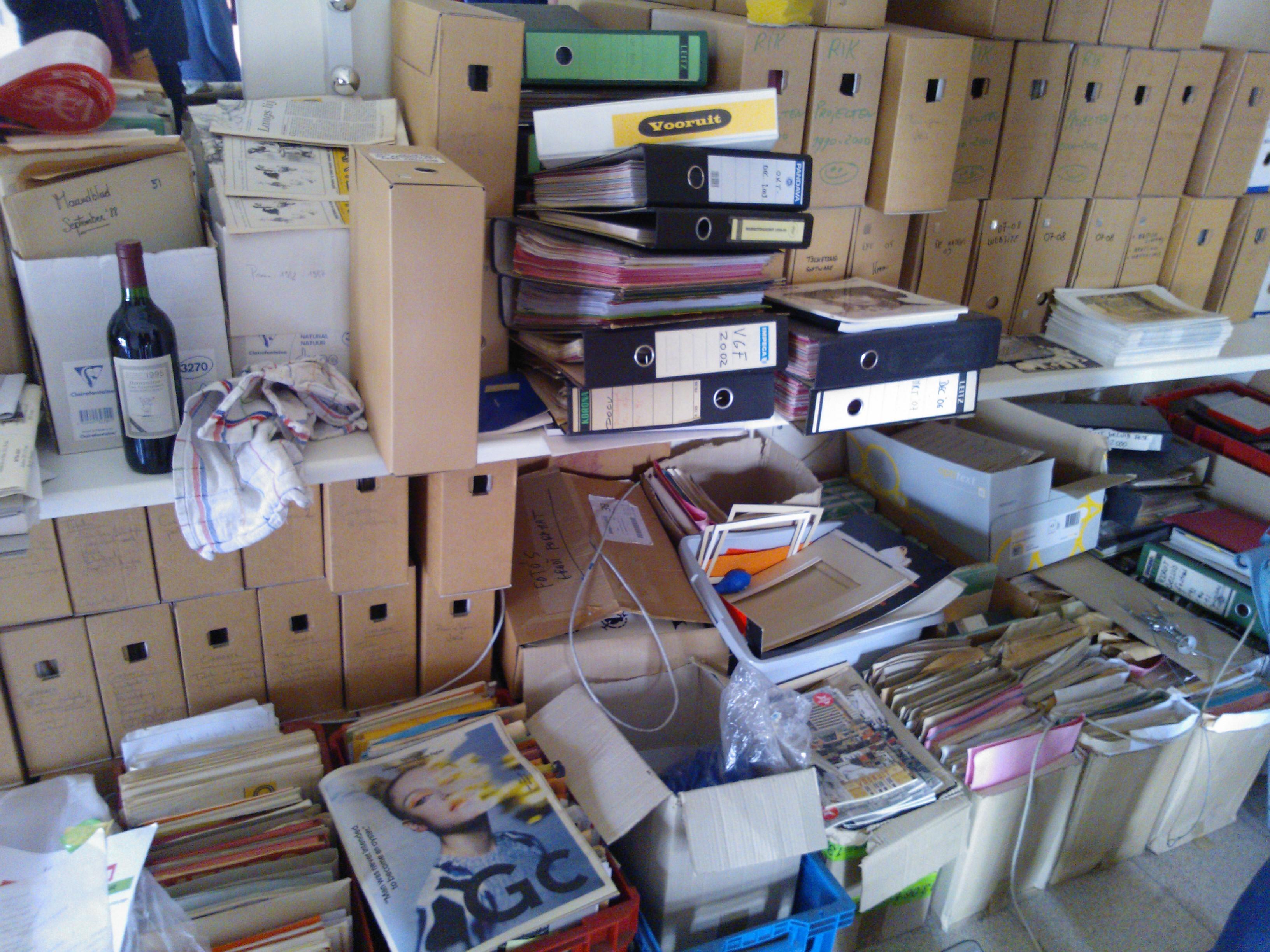 Plaatsbezoek: het archief in kaart brengen - PACKED vzw CC BY-SA