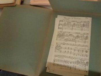 Digitalisering bladmuziekcollectie van Nederlandse Stichting Omroepmuziek