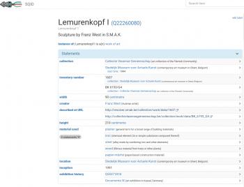 Online ontsluiting van archiefmateriaal: tentoonstellingsgegevens op Wikidata