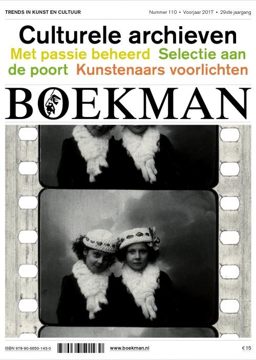 Het Nederlandse tijdschrift Boekman wijdde het voorjaarsnummer van 2017 aan culturele archieven. De brede waaier van het Nederlandse culturele geheugen komt erin aan bod. Naast de eerder traditionele sector van overheidsarchieven is er ook aandacht voor particuliere archieven, bijvoorbeeld uit de kunstensector. Interessant dus om eens te kijken wat we uit Nederland kunnen opsteken.