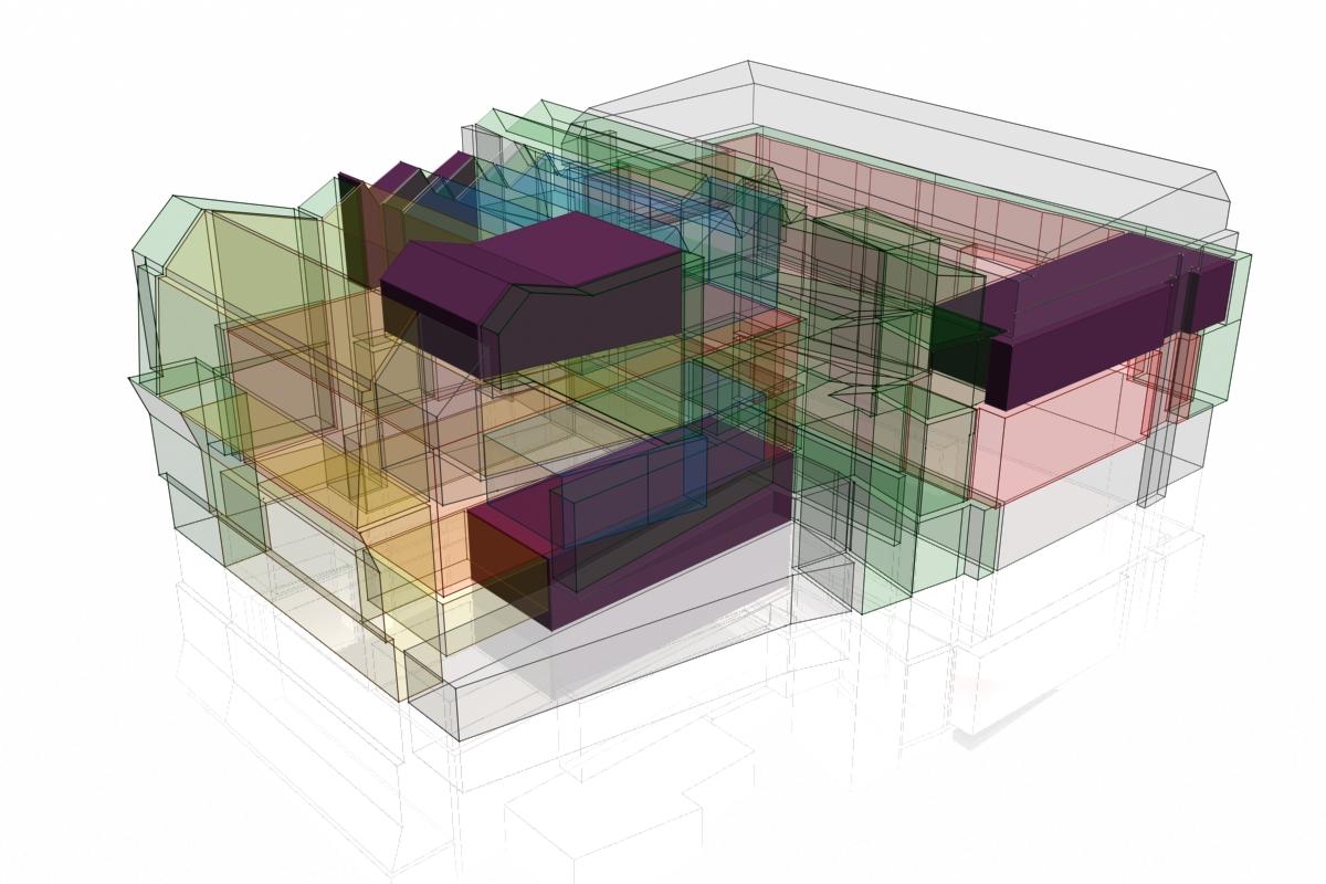 Met het architectenbureau MDMA werd er gezocht naar procedures om het ontwerpproces van architectuurprojecten beter te bewaren en te documenteren.