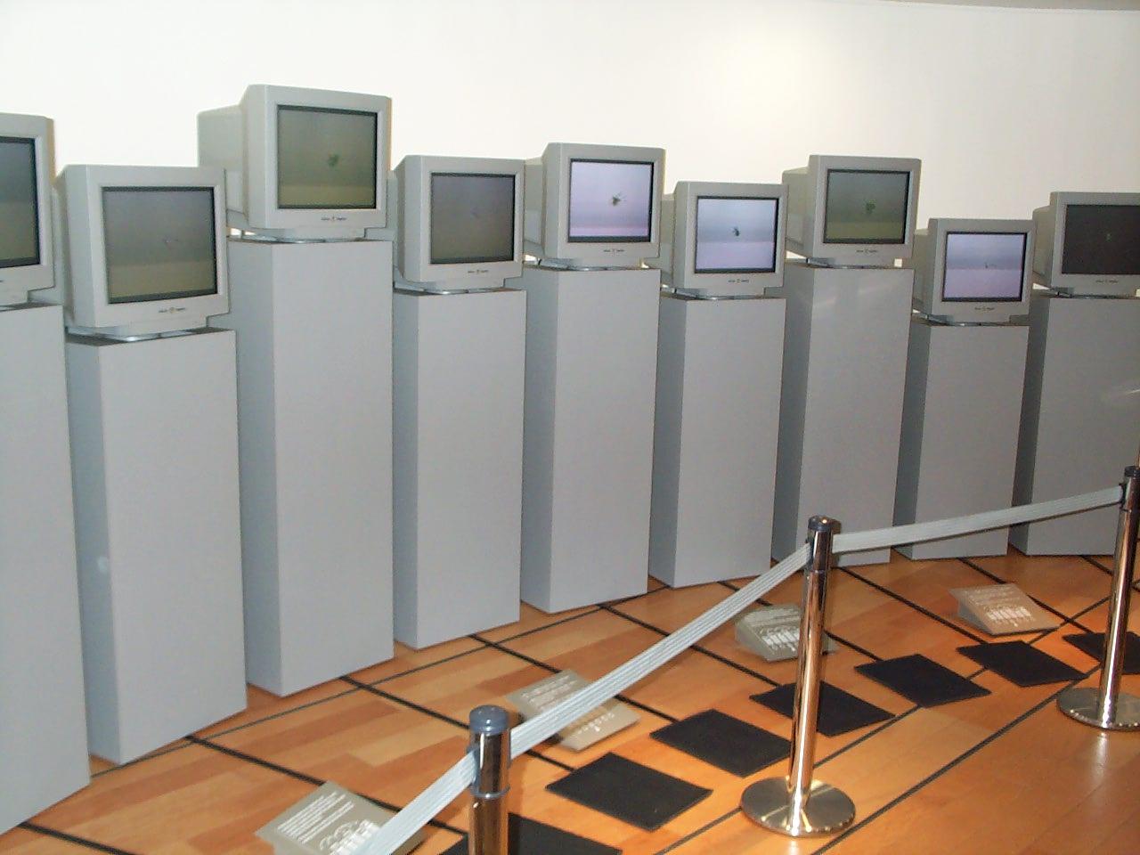De preservering van digitale kunstwerken brengt specifieke uitdagingen met zich mee. Een zorgvuldige bewaring van de essentiële hard- en software is aanbevolen, maar soms kom je op een punt waarop (ondanks goede zorgen) één van beide onherroepelijk de geest geeft. Bijgevolg dreig je een cruciaal element te verliezen om het kunstwerk opnieuw te tonen. De beperkte houdbaarheid van de componenten van digitale kunstwerken vormt dus een gevaar voor hun bewaring op lange termijn. In dit praktijkvoorbeeld tonen we dat je deze problematiek de baas kan blijven wanneer je er vanaf het moment van het ontstaan van het kunstwerk rekening mee houdt.