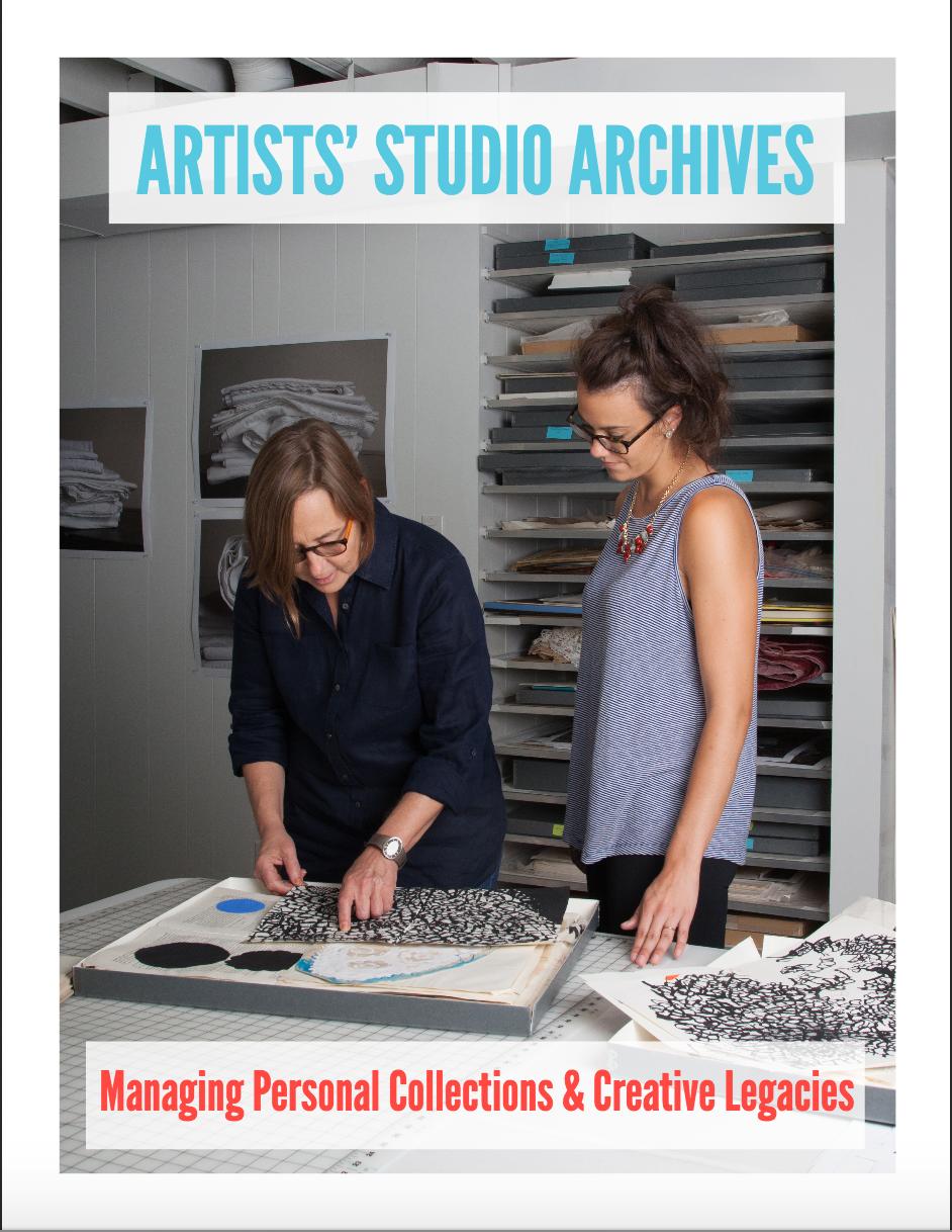 Art Libraries Society of North America (ARLIS/NA) publiceert Artists' Studio Archives: Managing Personal Collections & Creative Legacies, een gids voor kunstenaars, hun assistenten en anderen die pogingen doen om de studio-archieven van kunstenaars te bewaren.